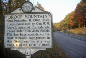 Droop Mountain Battlefield
