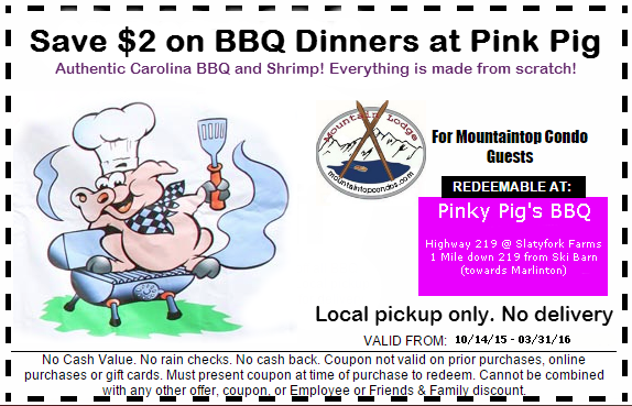 Pigs coupons