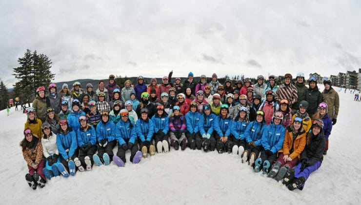 Snowshoe WV Ski Camp