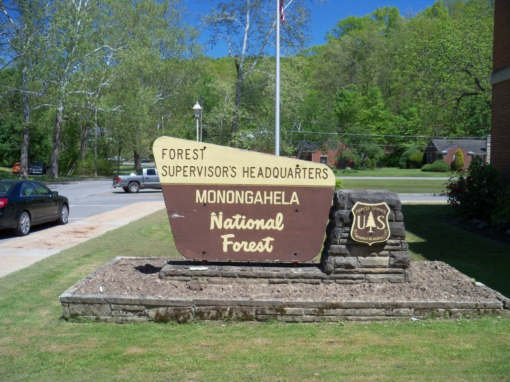 Monongahela National Forest Sign