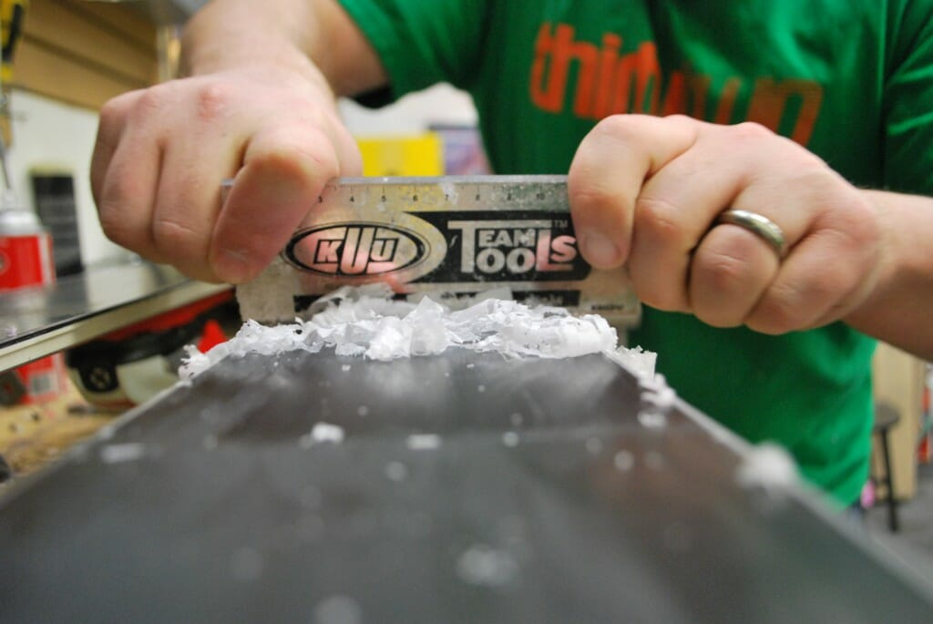 How to wax your own skis