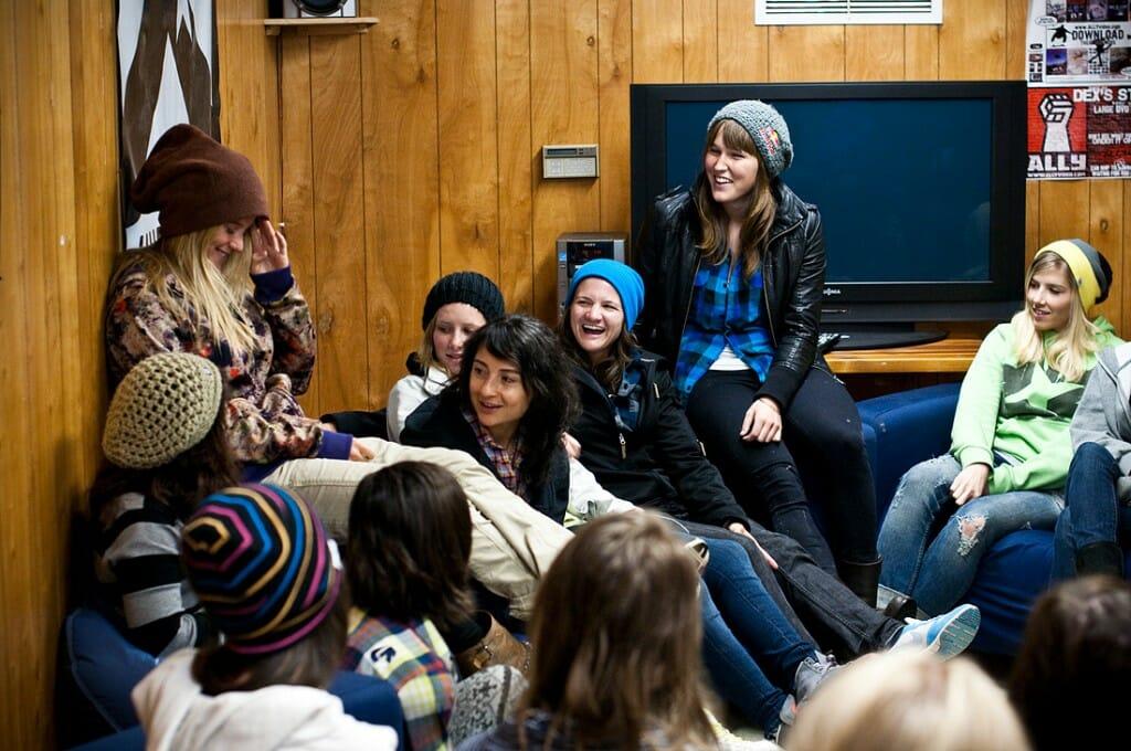 Burton Womens Camp Snowshoe WV
