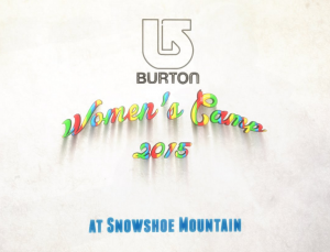 Burton Womens Camp Snowshoe WV