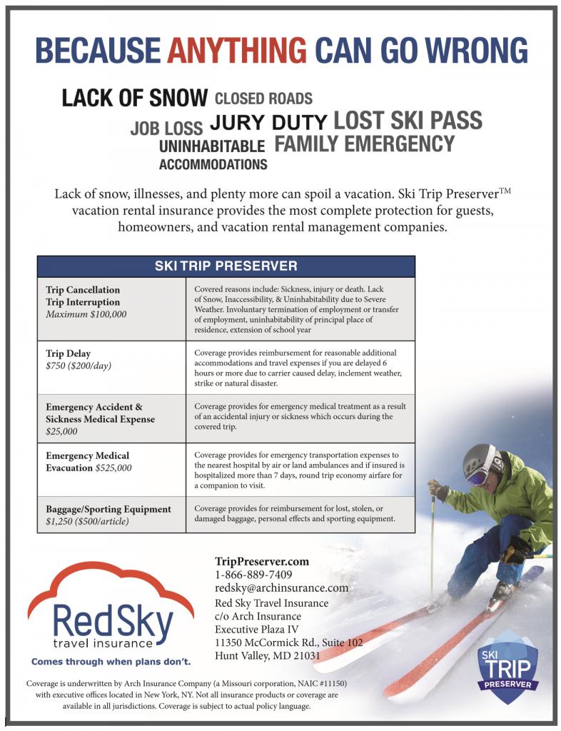 ski trip preserver