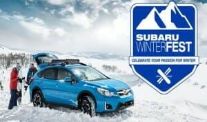 Snowshoe WV Subaru