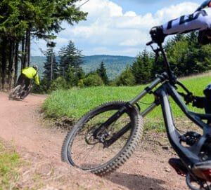 snowshoe wv mountain biking