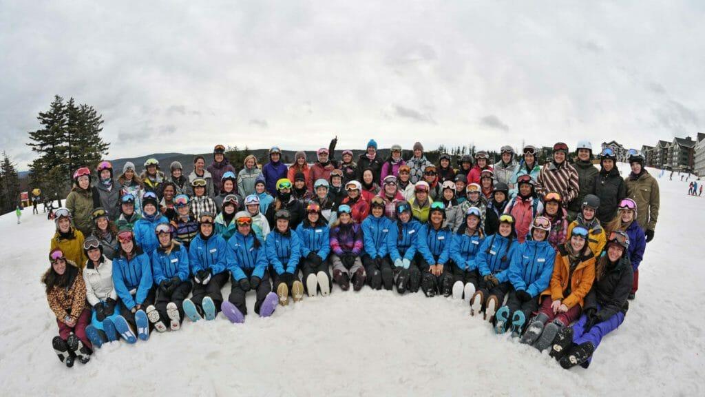 Burton Snowboard Camp