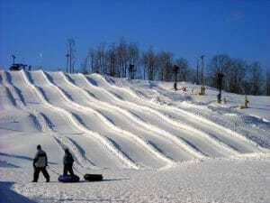 snowshoe ski resort