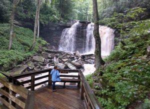 Falls of hills creek overlook
